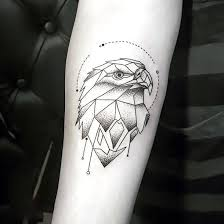 <b>Geometric Eagle</b> Tattoo Idea | Hipster tattoo, Geometric tattoo eagle ...