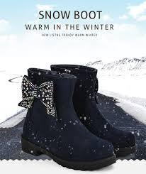 <b>ULKNN Kids</b> Shoes For Girls Boots <b>Winter Shoes Children</b> Snow ...