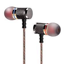 QKZ DM6 Professional In Ear Earphone <b>Metal</b> Heavy <b>Bass Sound</b> ...