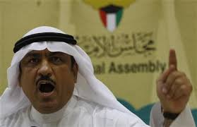 Kuwaiti lawmaker Musallam al-Barrak gestures while speaking to journalists at Parliament's media center in Kuwait City November 20, 2011. - %3Fm%3D02%26d%3D20121101%26t%3D2%26i%3D669684203%26w%3D580%26fh%3D%26fw%3D%26ll%3D%26pl%3D%26r%3DCBRE8A015VN00