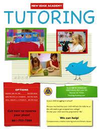 private tutoring flyer template tutoring flyer quotes private tutoring flyer template dimension n tk