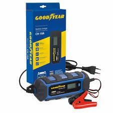 Зарядное <b>устройство</b> электронное <b>Goodyear CH</b>-<b>10A</b> для АКБ