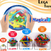 3d magic intellect maze ball castle logic big puzzle educational game balls 100 299 steps kid toys