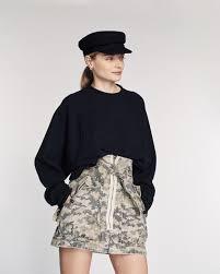 Hannah Heavy <b>Canvas Camo</b> Skirt | MARISSA WEBB