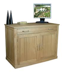 baumhaus mobel oak 2 mobel oak mobel oak hidden office desk study furniture aston solid oak hidden