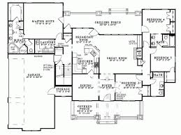 Craftsman House Plan   Square Feet and Bedrooms from    Level
