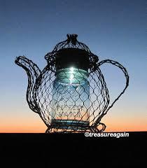 teapot mason jar solar light vintage blue ball by treasureagainsolar ball mason jar solar lights
