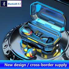 TWS <b>M15</b> Bluetooth 5.1 Earphones 3500mAh Charging Box ...