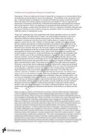 king lear essay   year  hsc   english  advanced    thinkswapking lear essay