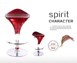 Furniture exhibition <b>bar stool wine red</b> blue color chair retail ...