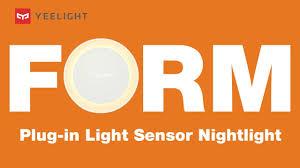 Minimal Beauty <b>Yeelight Plug-in</b> Light Sensor <b>Nightlight</b> YLYD11YL ...