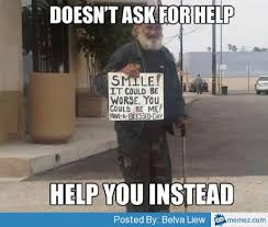 Helpful hobo | Memes.com via Relatably.com