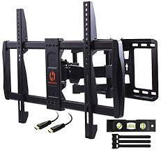 Husky Mount Tilting Flat Slim <b>TV Wall</b> Mount Bracket Fits Most 32 40 ...