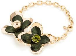 <b>Браслет Selena Audrey</b>, цвет: зеленый, золотистый. 40066200