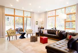 how to clean leather furniture living room modern with brown leather sofa ottoman built furniture living room