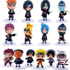 <b>1 pcs Cartoon</b> Naruto Action Figure Sasuke Kakashi Itachi Ninja ...