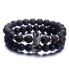 NS63 Hot <b>Trendy Lava Stone</b> Pave CZ Imperial Crown And Helmet ...