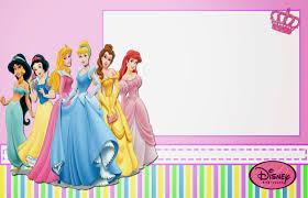 disney princess printable invitations or photo frames is disney princess printable invitation cards or photo frames