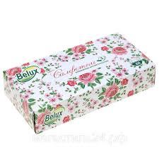 <b>Косметические салфетки BELUX</b> 3-х слойные 60 штук: продажа ...