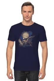 """Мужские футболки c качественными принтами """"Космос"""" - <b>Printio</b>"""