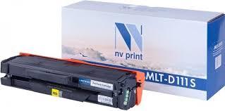 Тонер-<b>картридж</b> NV Print <b>MLT</b>-<b>D111S</b>, черный, для лазерного ...