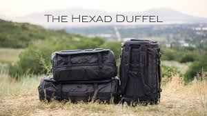 The <b>HEXAD Duffel</b>: The Ultimate Carryall and Travel Companion by ...