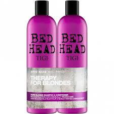 <b>TIGI Bed Head Dumb</b> Blonde Shampoo & Conditioner 750ml Tween ...