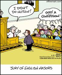 "Law School Memes | booksdirect: ""Jury of English Majors."" via Relatably.com"