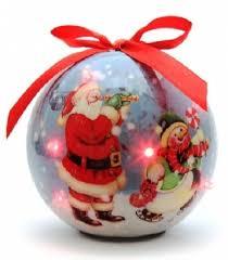 Купить <b>Ёлочные украшения</b> Start Шар 6 LED <b>Дед Мороз</b> в ...