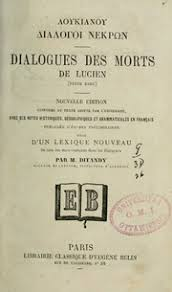lucian dialogues des morts french
