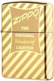<b>Зажигалка</b> Zippo <b>Vintage Box Top</b> с покрытием High Polish Brass ...
