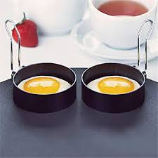 SKRRDCY <b>1PCS</b> Non-Stick Egg Rings for <b>Fried</b> and Poached Eggs ...