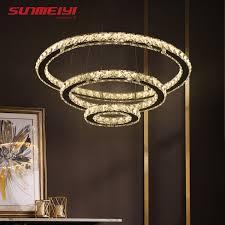 <b>Modern</b> LED <b>Crystal Chandelier</b> Lights Lamp For <b>Living</b> Room ...