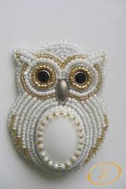 embroidery with beads - Google Search | <b>Брошь</b>, Бисерные ...