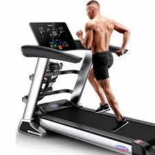 HD Color Screen Electric <b>Treadmill</b> Bluetooth Folding <b>Treadmill</b> for ...