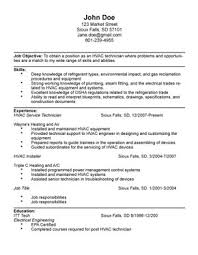 hvac technician resume examples hvac technician resume templates hvac technician resume templates hvac technician sample resume