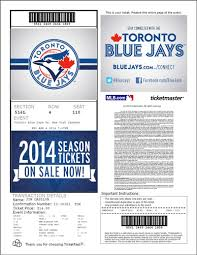 printing tickets toronto blue jays