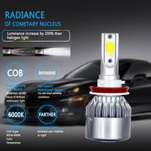 Online Shop 2X <b>R8 H4 H7</b> H11 H1 Car LED Headlight Bulbs 400W ...