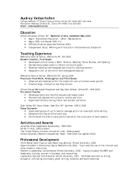 teacher resume examples preschool cover letter templates teacher resume examples preschool 15 top teacher resume examples samples of teaching resume education sample