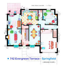 """Iñaki Aliste LizarraldeThese are the floorplans of the Simpson family house from the TV series """"The"""