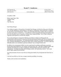 farm sales cover letter resume cover letter cover letter for entertainment industry
