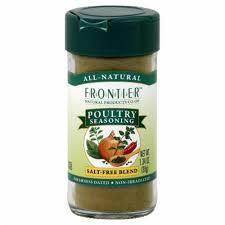 Frontier Poultry Seasoning Salt-Free Blend, 1.34 oz - Ralphs