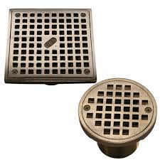square shower drain grates