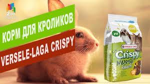<b>Корм</b> для кроликов <b>Versele</b>-<b>Laga CRISPY</b> MUESLI | Обзор <b>корма</b> ...