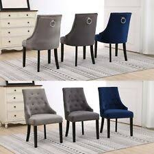 <b>Fabric Blue Dining Chairs</b> for sale | eBay