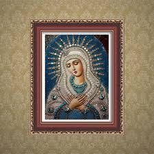Religious <b>DIY Diamond Embroidery</b> Painting Rhinestone Stitch ...
