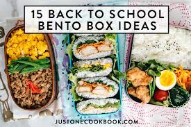 Back to School Easy <b>Bento Box</b> Ideas • Just One Cookbook