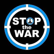 Image result for STOP THE WAR LOGO