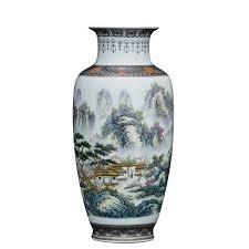 <b>Chinese Style</b> Vintage Jingdezhen <b>Ceramic Vase</b> Home Decoration ...