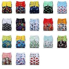 <b>Baby Cloth Diapers Adjustable Washable</b> Cute Cartoon Style <b>Cloth</b> ...